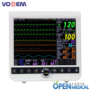 "오픈메디칼[VOTEM] 보템 환자감시모니터 (Patient Monitor) VP-1200 - 12.1"" high resolution(800X600) with maximum 10 waveforms"