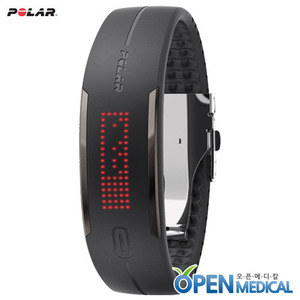 오픈메디칼[POLAR] 폴라 웨어러블 스마트밴드 Polar Loop2 (Black) - Activity Tracking with Smart Guidance