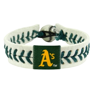 오픈메디칼[10%적립][GAMEWEAR] 게임웨어 Oakland Athletics Genuine Baseball Bracelet