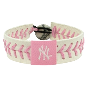 오픈메디칼[10%적립][GAMEWEAR] 게임웨어 New York Yankees Pink Baseball Bracelet