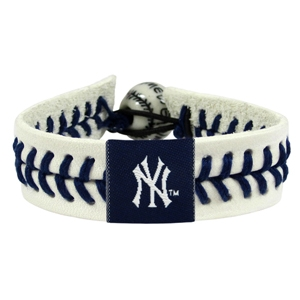 오픈메디칼[10%적립][GAMEWEAR] 게임웨어 New York Yankees Genuine Baseball Bracelet