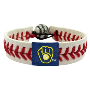 오픈메디칼[10%적립][GAMEWEAR] 게임웨어 Milwaukee Brewers Retro Classic Baseball Bracelet