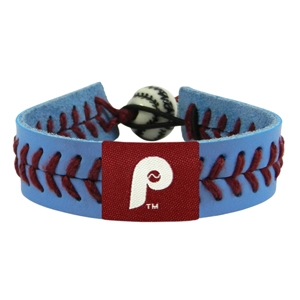 오픈메디칼[10%적립][GAMEWEAR] 게임웨어 Philadelphia Phillies Retro P Logo Team Color Baseball Bracelet