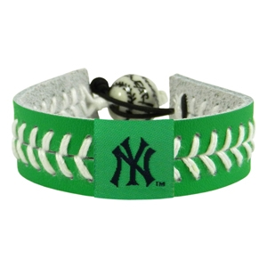 오픈메디칼[10%적립][GAMEWEAR] 게임웨어 New York Yankees St. Patrick's Day Baseball Bracelet