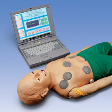오픈메디칼[5%적립][3B] Child Interactive PALS Manikin with Laptop(W45143)