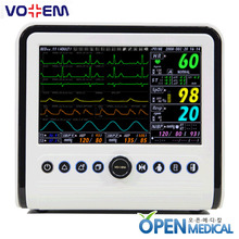 "오픈메디칼[VOTEM] 보템 환자감시모니터 (Patient Monitor) VP-700 - 7"" high resolution(800X480) with maximum 7 waveforms"