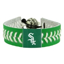 오픈메디칼[10%적립][GAMEWEAR] 게임웨어 Chicago White Sox St. Patrick's Day Baseball Bracelet