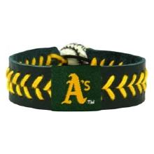 오픈메디칼[10%적립][GAMEWEAR] 게임웨어 Oakland Athletics Team Color Baseball Bracelet