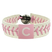 오픈메디칼[10%적립][GAMEWEAR] 게임웨어 Chicago Cubs Pink Baseball Bracelet
