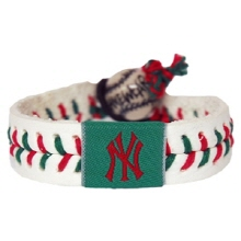 오픈메디칼[10%적립][GAMEWEAR] 게임웨어 New York Yankees Holiday Baseball Bracelet